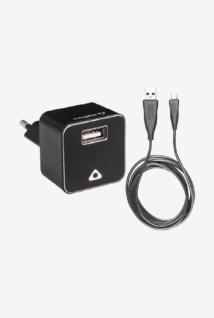 Stuffcool 1A HKUNOBRG USB Wall Charger Black