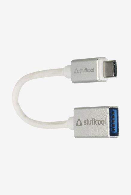 Stuffcool USB-C to USB 3.0 EARL Female Adapter White
