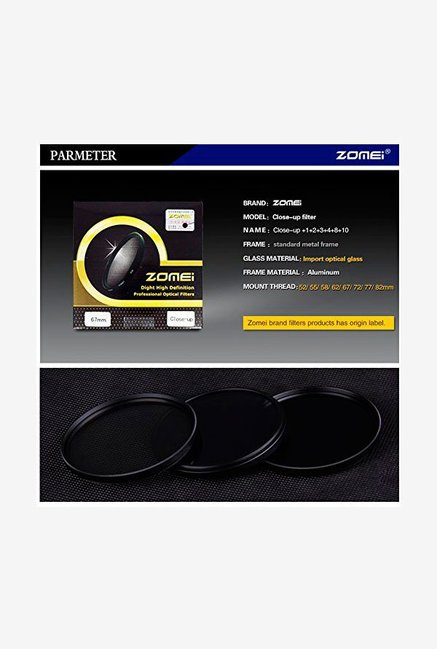 ZOMEi JSJZM044 Lens Filter Black