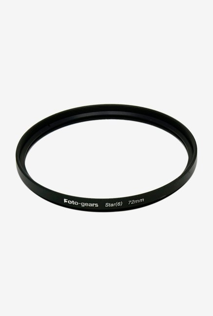 Mesenltd Foto-gears 72mm Star Effect Filter Black