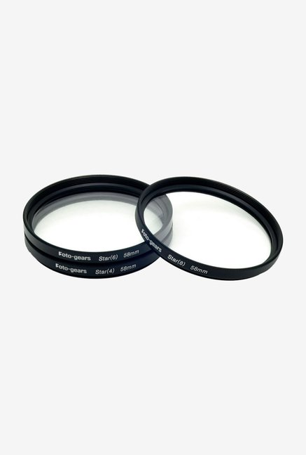 Mesenltd Foto-gears F-58mm Star Effect Filter Black