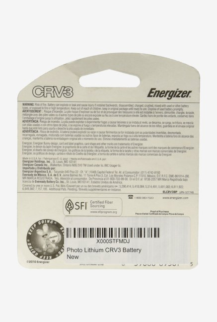 Photo Lithium CRV3 Battery