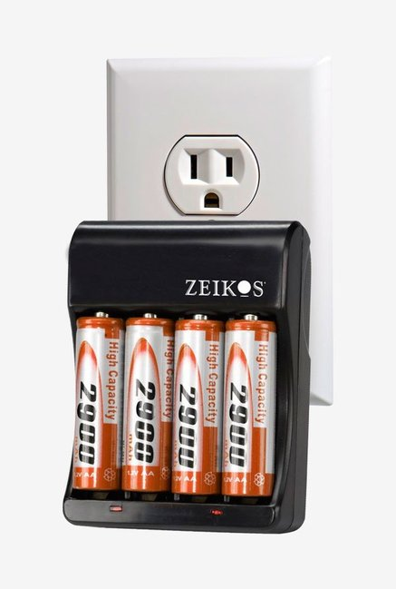 Zeikos Ze-Sc2900 Charger With 4Aa 2900Mah Batteries