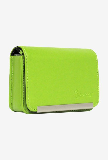 Impecca DCS86L Leather Camera Case Lime