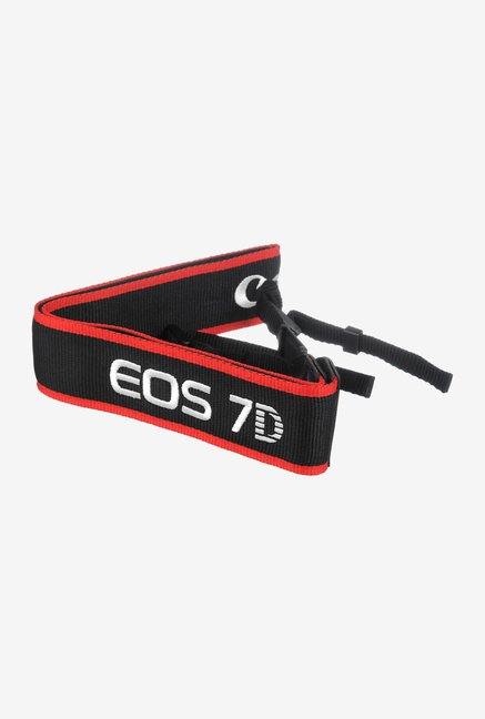 Canon EW-EOS7D Strap Black and Red
