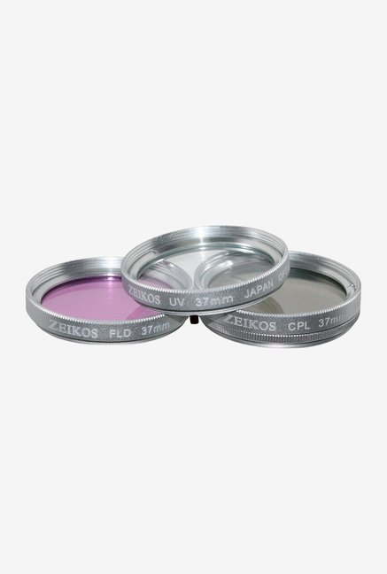Zeikos 37mm Multi-Coated ZE-FLK37 Filter Kit (3 Piece)