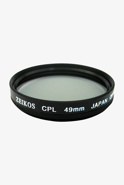 Zeikos 49mm Multi-Coated ZE-CPL49 Polarizer Filter