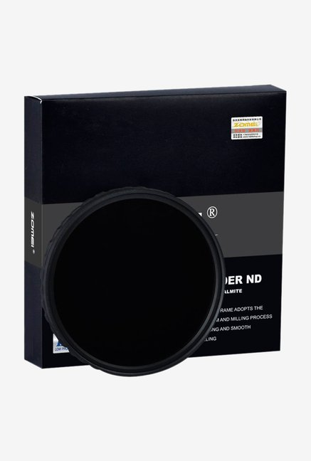 ZOMEi Ultra Slim ZOMEI-HD-ND400-67mm Lens Filter Black