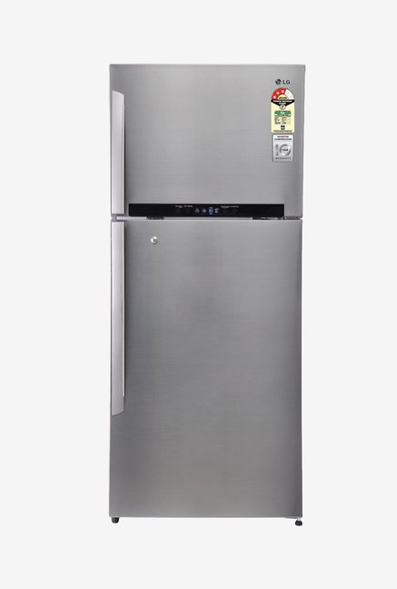 LG 546 L Double Door GN-M702HLHM Refrigerator Stainless Steel
