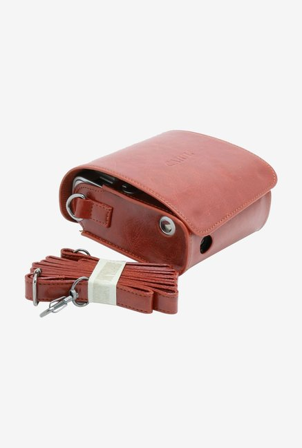 CAIUL instax mini 90 Camera Case Brown