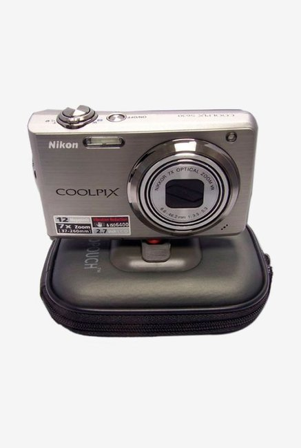 America Digital Accessories Hard POUST125 Camera Case silver