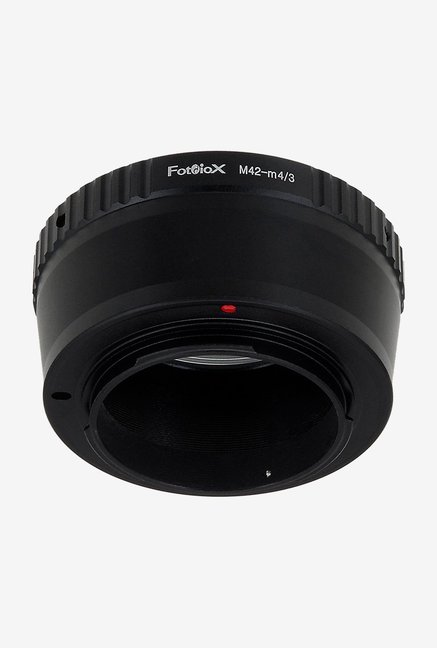 Fotodiox 09M42Micro43 Lens Mount Adapter Black