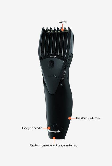 Panasonic ER 207WK Head/Beard Trimmer Black