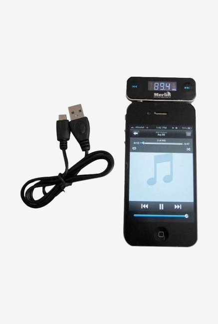 Merlin Wireless FM Transmitter Black