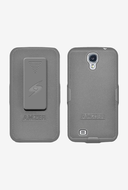 Amzer Shellster Shell Case Grey for Galaxy S4