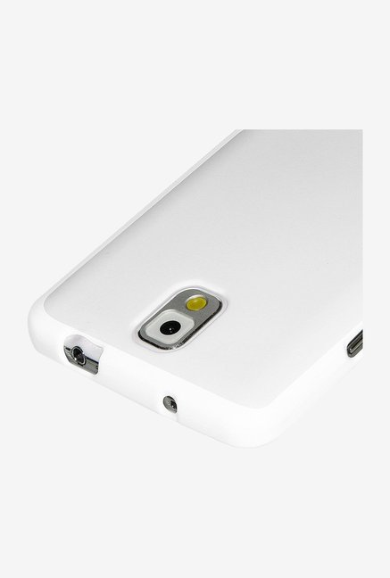 Amzer Pudding TPU Back Cover White for Galaxy Note 3