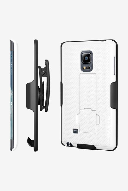Amzer Shellster Case with Kickstand Black/White for NoteEdge