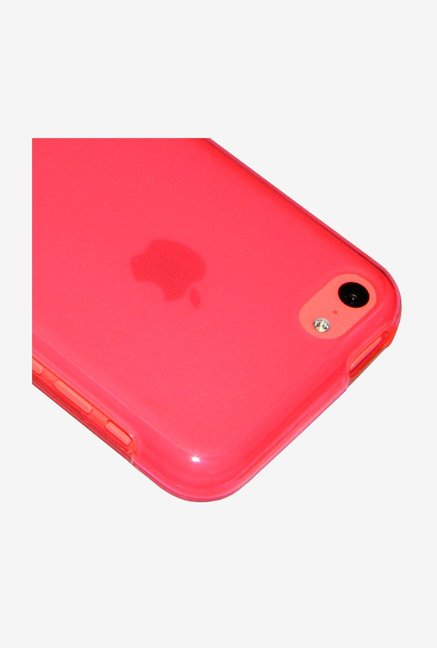 Amzer Pudding TPU Back Cover Pink for iPhone 5