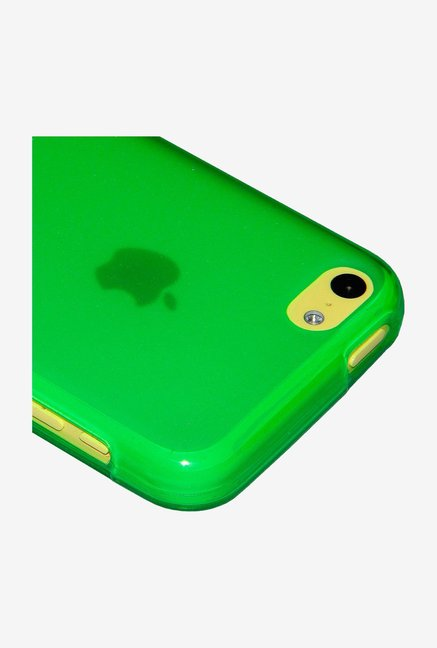 Amzer Pudding TPU Back Cover Green for iPhone 5