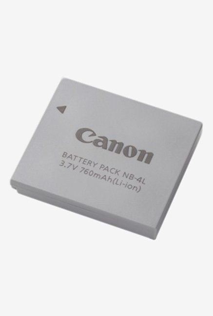 Canon Lithium Ion NB 4L Battery Grey
