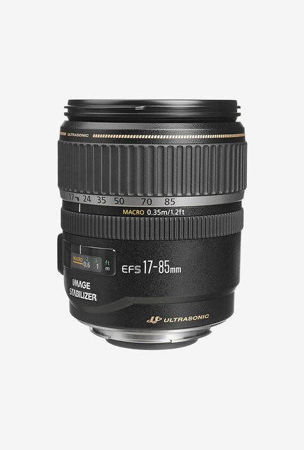 Canon EF-S 17-85mm  f/4-5.6 IS USM Lens Black