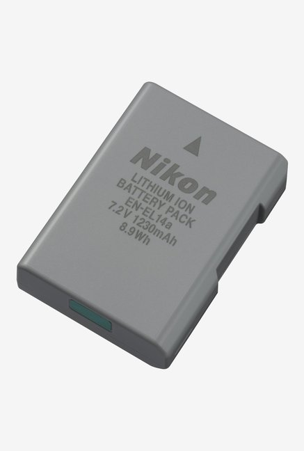 Nikon EN EL14A Lithium Ion Battery Grey