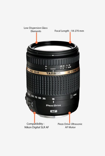 Tamron 18-270mm f/3.5-6.3 Di II VC PZD Lens for Nikon DSLR