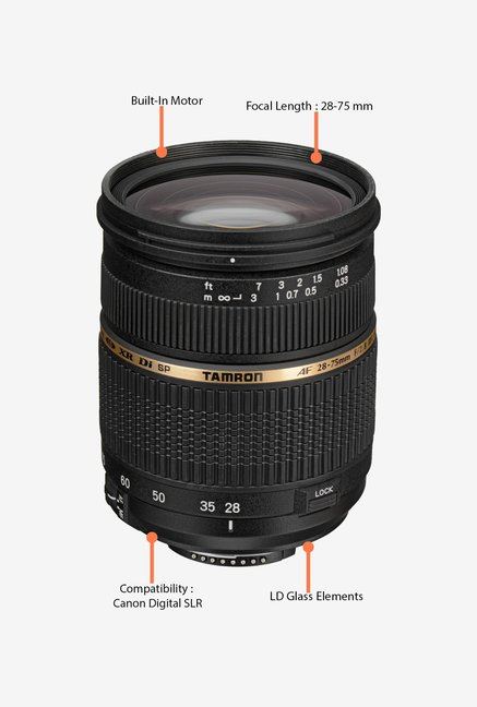 Tamron SP 28-75mm f/2.8 XR Di LD AL IF Lens for Canon DSLR