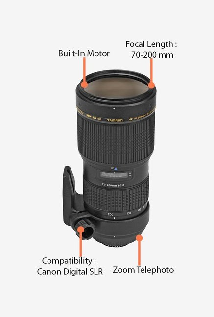 Tamron 70-200mm f/2.8 AF Di LD IF MACRO Lens for Canon DSLR