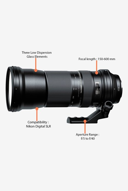 Tamron SP 150-600mm f/5-6.3 Di VC USD Lens for Nikon DSLR