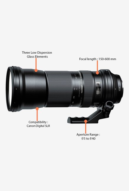 Tamron SP 150-600mm f/5-6.3 Di VC USD Lens for Canon DSLR