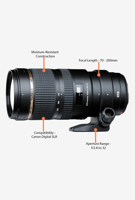 Tamron SP 70-200mm f/2.8 Di VC USD Lens for Canon DSLR