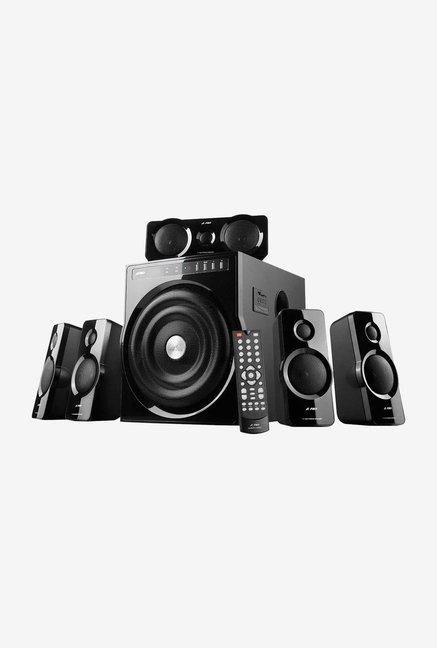 Fendaaudio F-6000U 123w Speaker System with 5.1 Channel Configuration Black