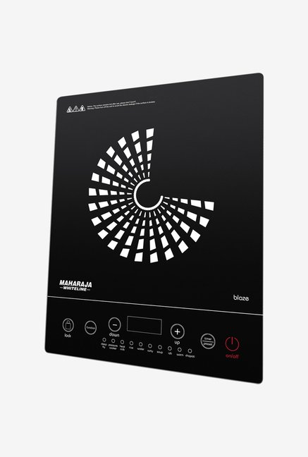 Maharaja Whiteline Blaze 2000 Watts Induction Cooktop Black