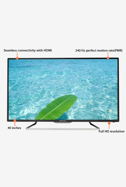 Philips 40PFL5059/V7 102 cm (40) Full HD LED TV (Black)