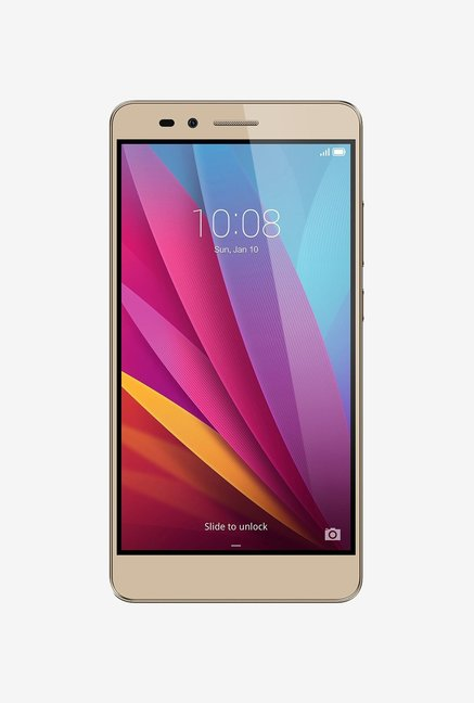 Buy Huawei Honor 5X (Gold) Online At Best Price In India at Tata CLiQ