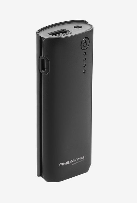 Ambrane 4000 mAh P-444 Power Bank Black