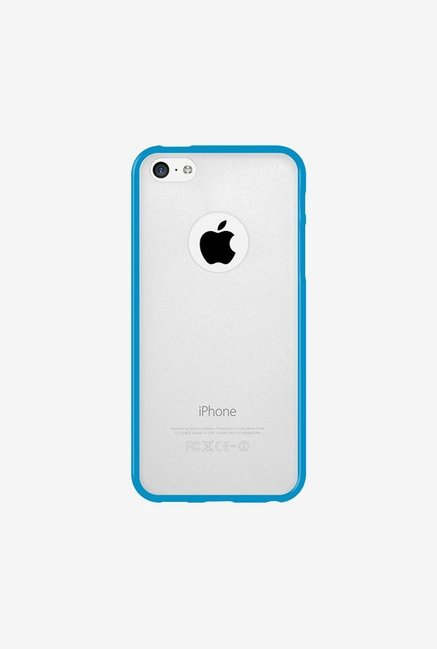 Amzer SlimGrip Hybrid Case Cloudy & Blue for iPhone 5C