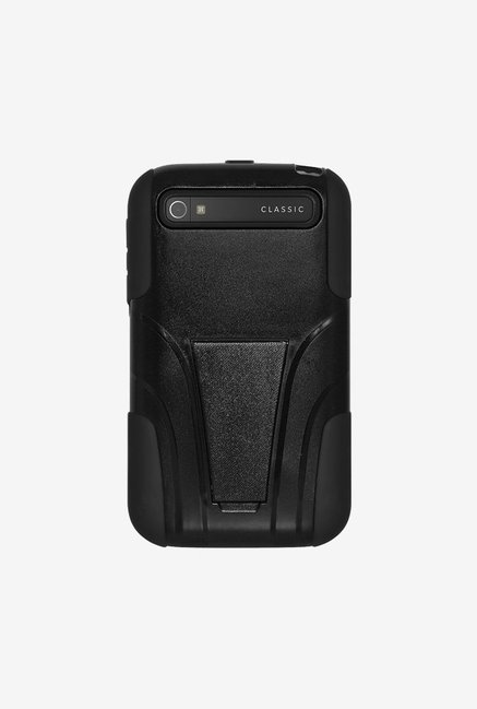 Amzer Dual Layer Hybrid Case Black for BlackBerry Classic