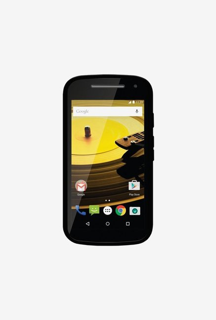 Amzer Pudding TPU Case Black for Moto E
