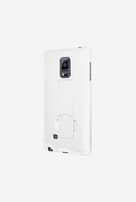 Amzer Snap OnCase with Kickstand White for Samsung Note Edge