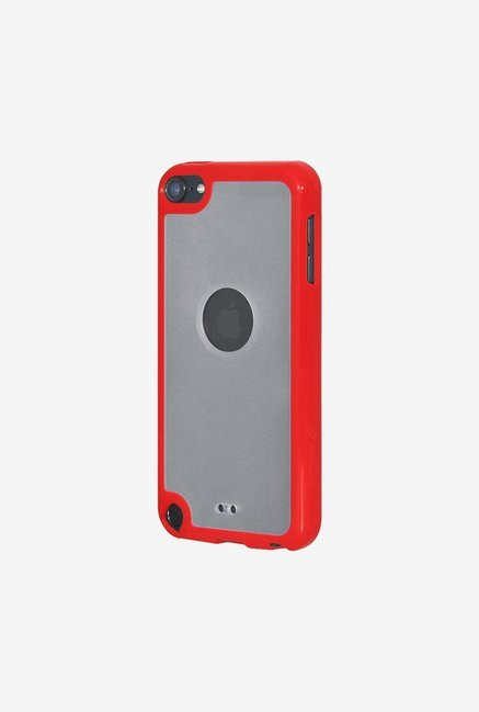 Amzer SlimGrip Hybrid Case Cloudy & Red for iPod Touch