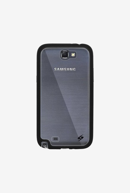 Amzer SlimGrip Hybrid Case Black for Samsung Note 2