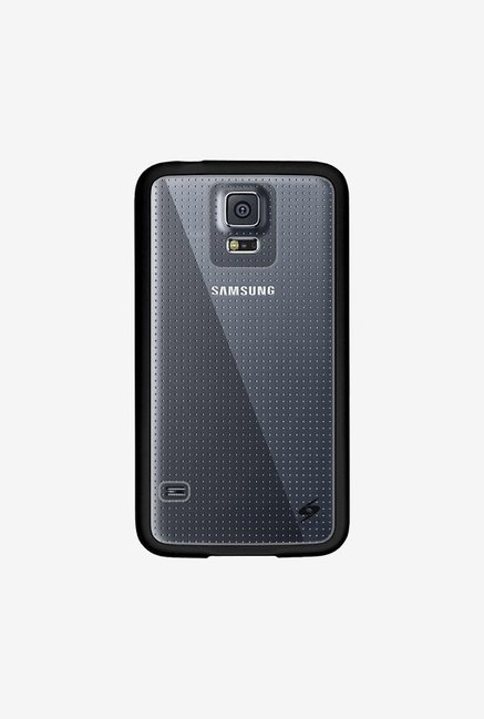 Amzer SlimGrip Hybrid Case Black for Samsung S5 Neo