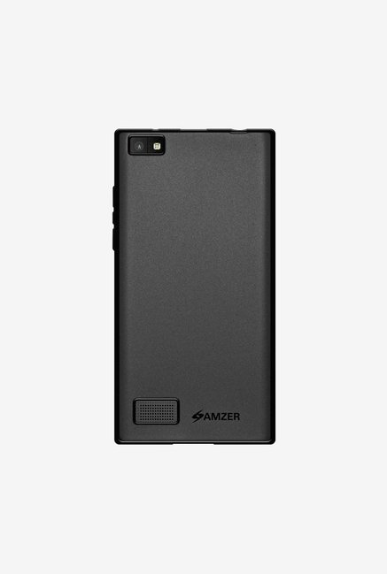 Amzer Pudding TPU Case Black for BlackBerry Leap