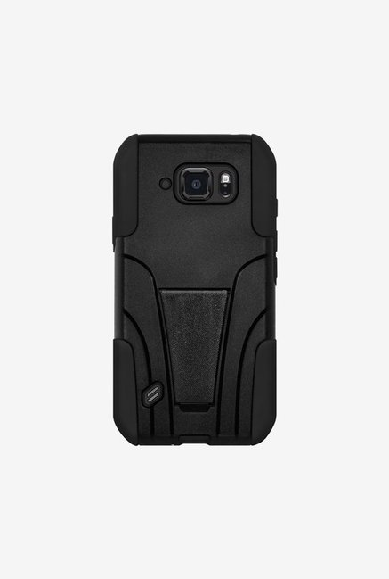 Amzer Dual Layer Hybrid Case Black for Samsung S6 active