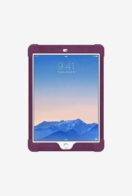 Amzer Silicone Skin Jelly Case Purple for iPad Air 2