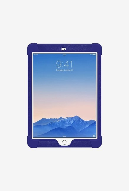 Amzer Silicone Skin Jelly Case Blue for iPad Air 2