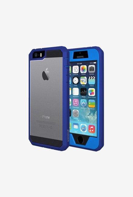 Amzer Full Body Hybrid Case Blue for iPhone 5