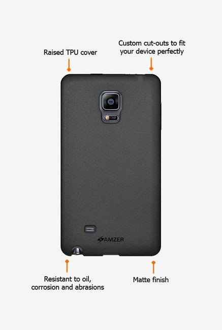 Amzer Pudding TPU Case Black for Samsung Note Edge